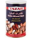Tazah 1526BT Extra Mixed Nuts Blue Tin 12/1 Lb
