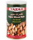 Tazah 1526GT Super Mixed Nuts Green Tin 12/1 Lb