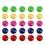 "Officeship 100PCS Whiteboard Magnets, Office Magnets, Fridge Magnets Round 3/4"" Diameter"