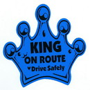 Baby on Route - King Crown Magnet