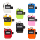 GOGO Plastic Tally Counter 4 Digit ABS Hand Counter Clicker, 8 Colors Wholesale Lot Tally Counters