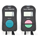 GOGO 2 PCS Digital Tally Counter Electronic Hand Held Clicker Sports Counter Add/ Subtract Manual Clicker