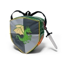 Kidorable BACKPACK-KNIGHT Dragon Knight Backpack Grey, One-Size