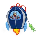 Kidorable BACKPACK-SPACE Space Hero Backpack Blue, One-Size
