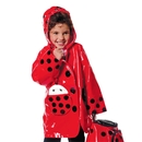 Kidorable PCOAT-LB Ladybug Rain Coat