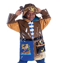 Kidorable PCOAT-PIRATE Pirate Rain Coat