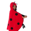 Kidorable TOWEL-LB Ladybug Towel Red