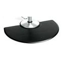 KELLER UN3045C Urethane Semi-Circle Floor Mat 3 x 4.5