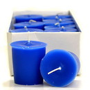 Keystone Candle 15hrPVot12-BChristmas Blue Christmas Votive Candles