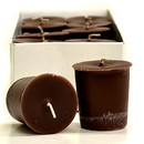 Keystone Candle 15hrPVot12-ChocFudge Chocolate Fudge Votive Candles