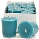 Keystone Candle 15hrPVot12-FrRain Fresh Rain Votive Candles