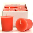 Keystone Candle 15hrPVot12-JucPeach Juicy Peach Votive Candles