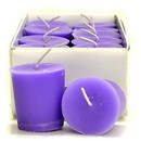 Keystone Candle 15hrPVot12-Lav Lavender Votive Candles