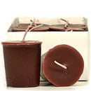Keystone Candle 15hrPVot12-LPW Leather Pipe and Woods Votive Candles