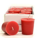 Keystone Candle 15hrPVot12-MisHolly Mistletoe and Holly Votive Candles