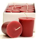 Keystone Candle 15hrPVot12-Rasp Raspberry Cream Votive Candles