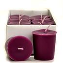 Keystone Candle 15hrPVot12-SpPlum Spiced Plum Votive Candles
