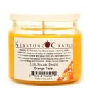 Keystone Candle 5ozSR-OTwist 5 oz Orange Twist Soy Jar Candles
