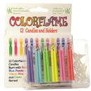 Keystone Candle BDayCF Colored Flame Birthday Candles