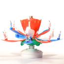 Keystone Candle BDdayMF-RWB Lotus Birthday Candles Red White Blue