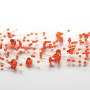Keystone Candle BeadGar-1048 Beaded Garland Orange