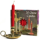 Keystone Candle Chime-Red Chime Candles Red