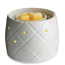 Keystone Candle CW-FFGEM Illuminaire Fan Candle Warmer Geometric