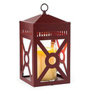 Keystone Candle CWMSRED Lantern Candle Warmer Mission Brick