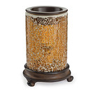 Keystone Candle CWTW-gmcam Crackled Amber Tart Warmer