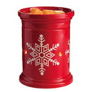 Keystone Candle CWTW-Lsn Red Snowflake Tart Burner