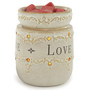 Keystone Candle CWTW1014 Live Laugh Love Round Tart Burner