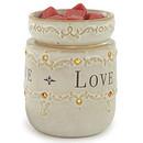 Keystone Candle CWTW1014 Live Laugh Love Round Tart Burner