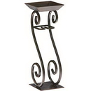 Keystone Candle DG-NAT2324 Candle on Rope Holder Scroll Design