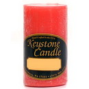 Keystone Candle FT2x3-JucPeach Juicy Peach 2x3 Pillar Candles
