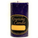 Keystone Candle FT2x3-Lilac Lilac 2x3 Pillar Candles