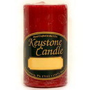 Keystone Candle FT2x3-MisHolly Mistletoe and Holly 2x3 Pillar Candles