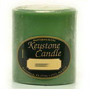 Keystone Candle FT3x3-Bay Bayberry 3x3 Pillar Candles