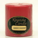 Keystone Candle FT3x3-FandM Frankincense and Myrrh 3x3 Pillar Candles