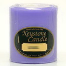Keystone Candle FT3x3-Lav Lavender 3x3 Pillar Candles