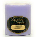 Keystone Candle FT3x3-LemLav Lemon Lavender 3x3 Pillar Candles