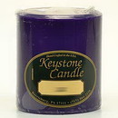 Keystone Candle FT3x3-Lilac Lilac 3x3 Pillar Candles