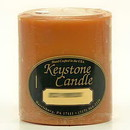 Keystone Candle FT3x3-Pumpk Spiced Pumpkin 3x3 Pillar Candles