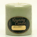 Keystone Candle FT3x3-SandC Sage and Citrus 3x3 Pillar Candles
