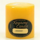 Keystone Candle FT3x3-SunFl Sunflower 3x3 Pillar Candles