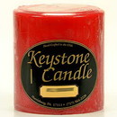 Keystone Candle FT4x4-AppCinn Apple Cinnamon 4x4 Pillar Candles