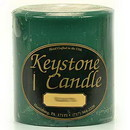 Keystone Candle FT4x4-Balsam Balsam Fir 4x4 Pillar Candles