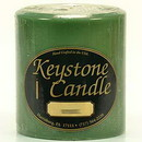Keystone Candle FT4x4-Bay Bayberry 4x4 Pillar Candles