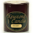 Keystone Candle FT4x4-BlCherry Black Cherry 4x4 Pillar Candles