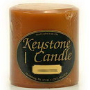 Keystone Candle FT4x4-CinnStick Cinnamon Stick 4x4 Pillar Candles