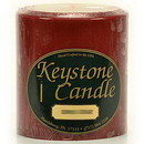 Keystone Candle FT4x4-CranChut Cranberry Chutney 4x4 Pillar Candles